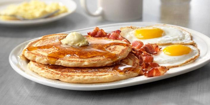Not having a proper breakfast