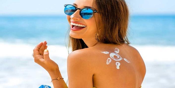 Get rid of sun tan