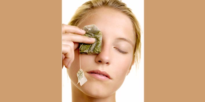 Relax Your Eyes with Tea Bags