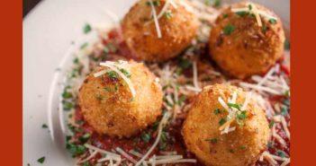 risotto cheese balls recipe