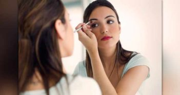 Use Contact Lens Solution for Makeup