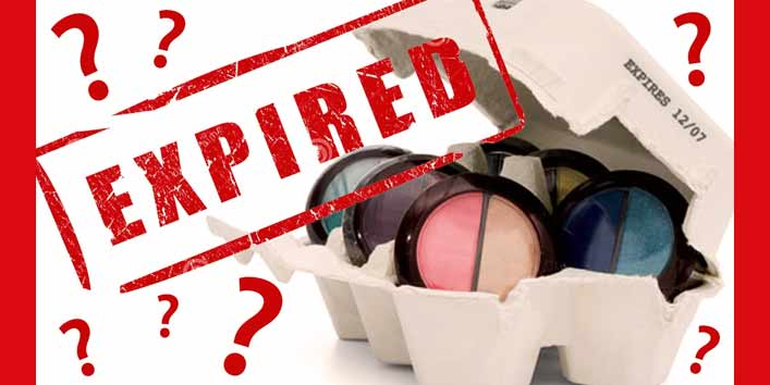 Using Expired Products (One Of The Most Common Makeup Mistakes That Can Affect Your Eyes)