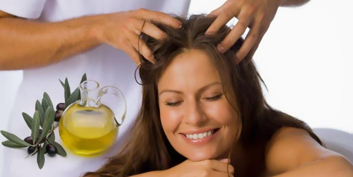 Olive Oil Hair Spa at home