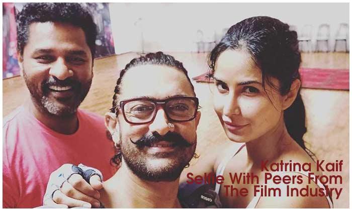 Katrina Kaif Selfie With Peers From The Film Industry