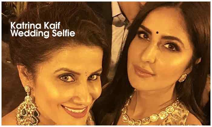 Katrina Kaif Wedding Selfie