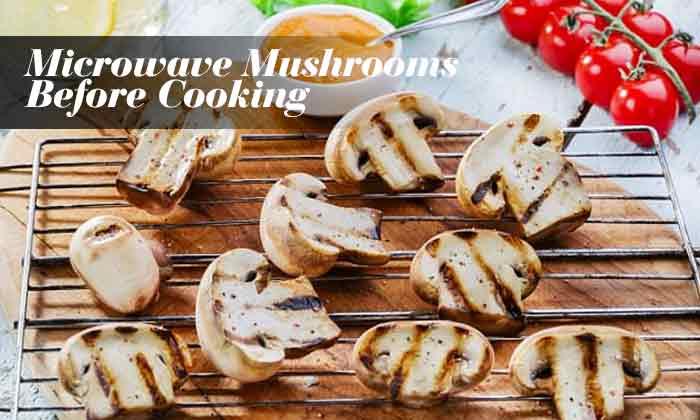 rowave Mushrooms Before Cooking