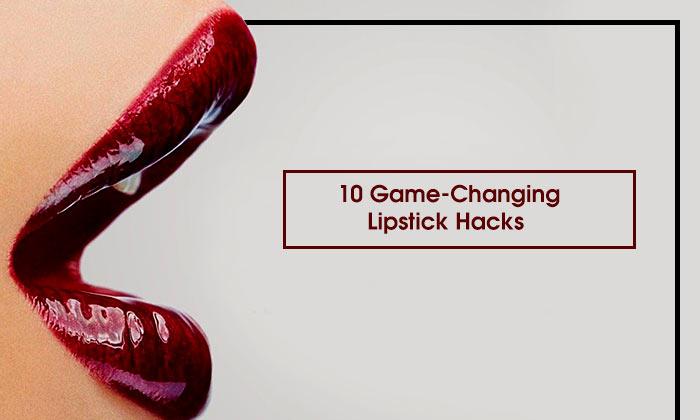 10 Game-Changing Lipstick Hacks
