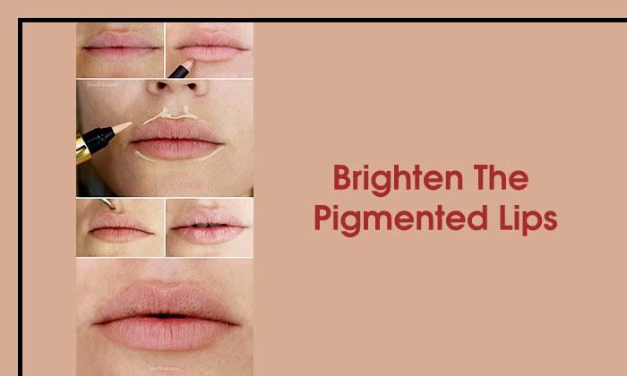 Brighten The Pigmented Lips