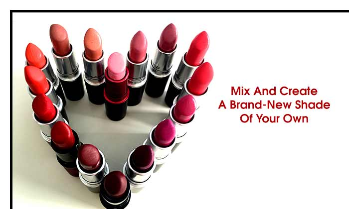 Mix And Create A Brand-New Shade Of Your Own