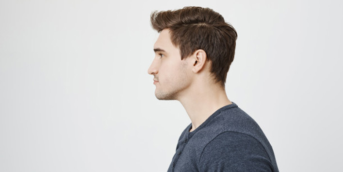 Semi-Slicked-Short-Hairstyle-for-Men-with-Oval-Face