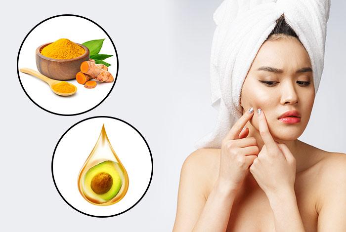 Turmeric-and-avocado-oil-face-mask