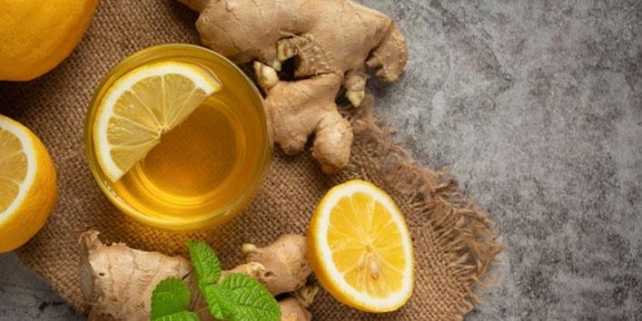 Lemon-honey-ginger-tea
