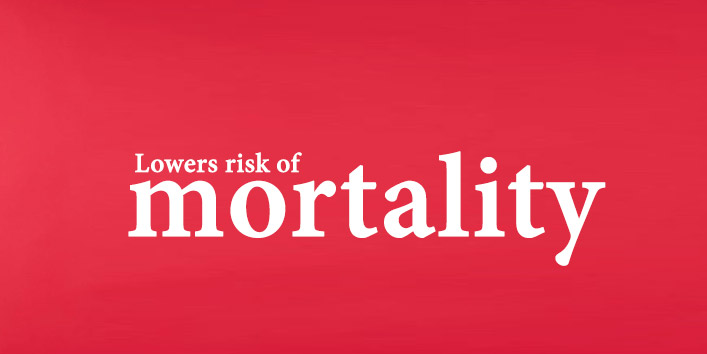Lowers-risk-of-mortality