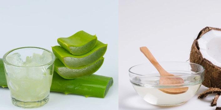 Aloe-vera-gel-&-coconut-oil