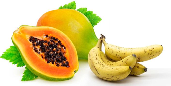 Banana-and-papaya-face-pack-for-fairness