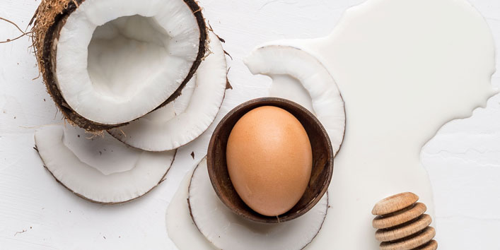 Coconut-oil-and-egg-white