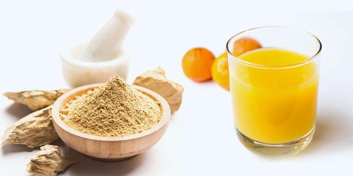 Multani-mitti-face-pack-and-orange-juice-for-fairness