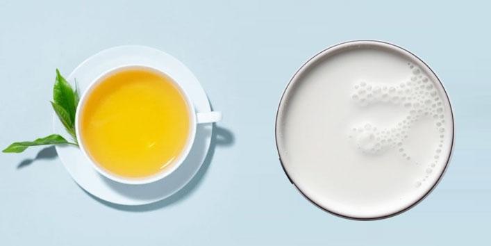 Green-Tea-and-Milk